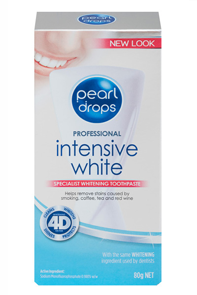 Pearl Drops Professional Intensive White Toothpaste 80g
